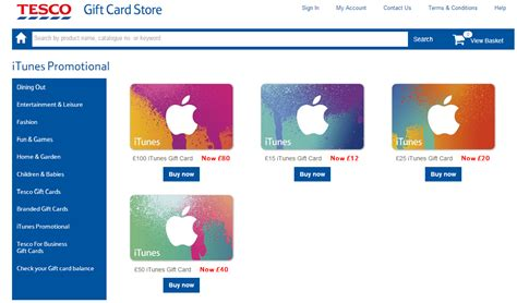 Itunes Gift Cards 20 Off - 20 off itunes gift cards at tesco coolsmartphone