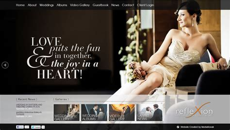 Wedding Photography Websites by Wedding Photography Websites Of The Week Website