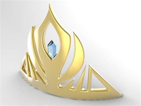elsa s tiara by lee7670 thingiverse