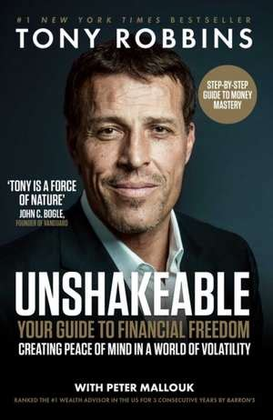 cartea unshakeable bestsellers investiții financiare tony robbins 183 9781471164934 books express