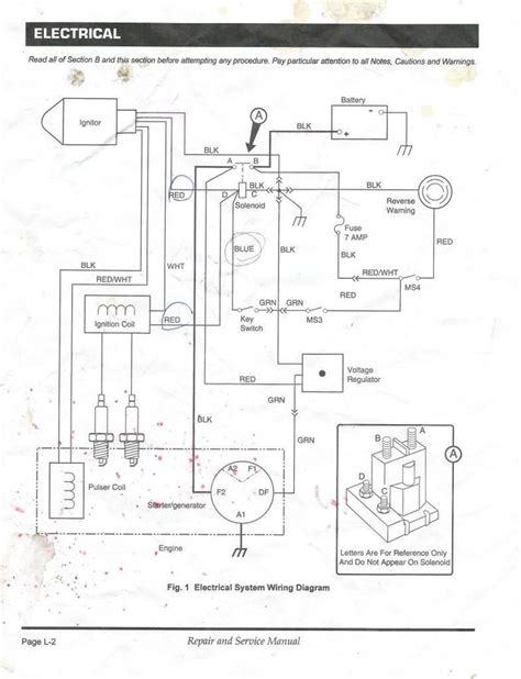 ez  gas golf cart wiring diagram   ezgo txt    gas golf carts ezgo golf