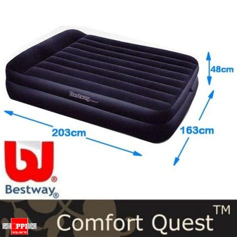Air Mattress Shopping by Bestway Comfort Quest Deluxe Size