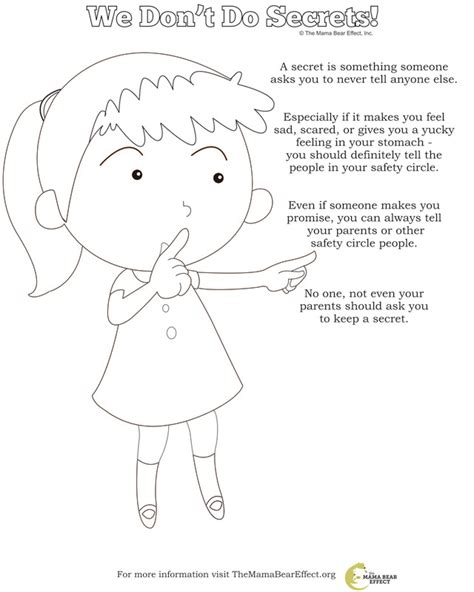 coloring pages for child abuse prevention 73 coloring books for child abuse the safe touch