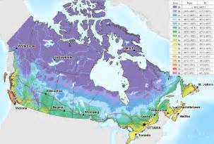Canada Climate Map by Canada Temperature Map