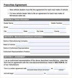 franchise agreement template franchise agreement 7 free documents in pdf word