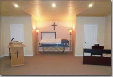 image gallery inside funeral home