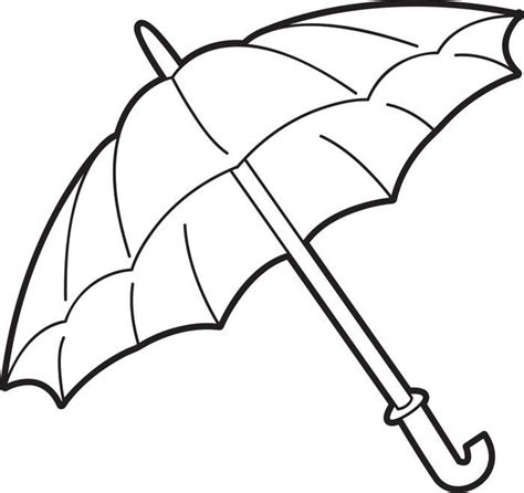 Coloring Page Umbrella by Umbrella Coloring Page Umbrella