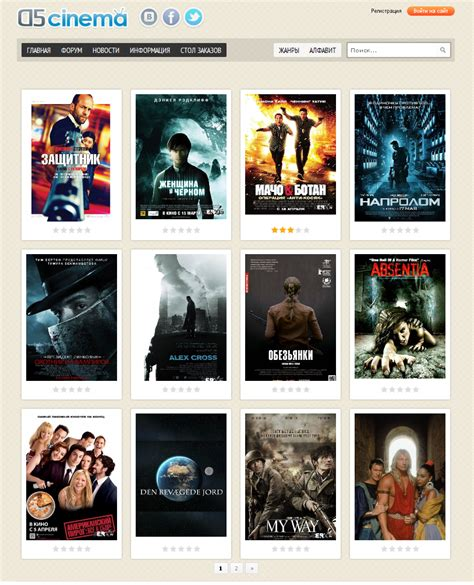 dle themes english template d5 cinema for dle 11 2 english