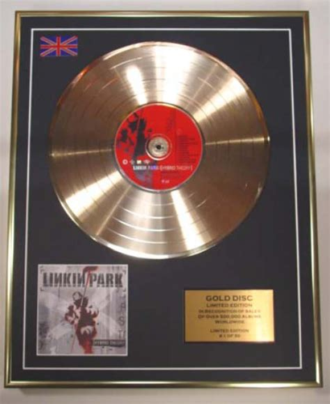 Linkin Park Berbrick Limited Edition linkin park limited edition cd gold disc hybrid theory