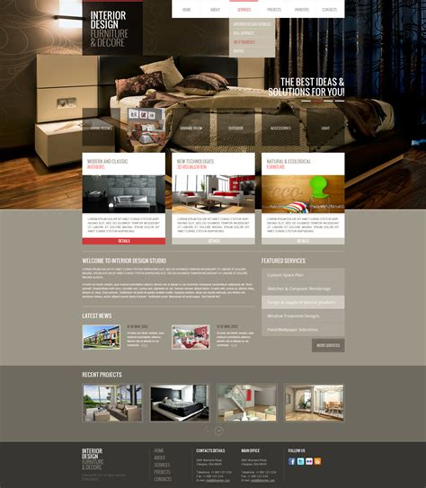 design html bootstrap interior design html bootstrap template theme gridgum