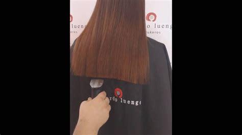 corte de pelo recto como cortar el pelo recto youtube
