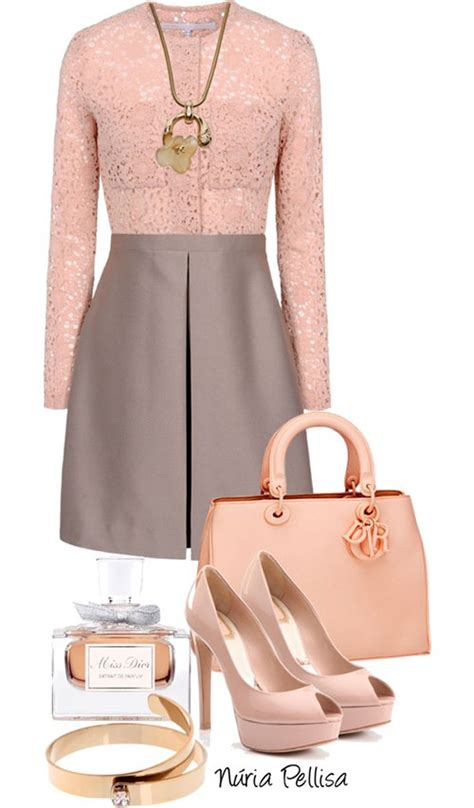 baby pink polyvore combinations
