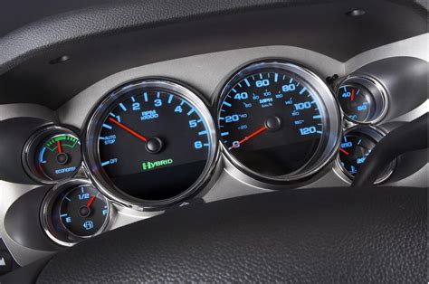 buy car manuals 2009 chevrolet traverse instrument cluster image 2009 chevrolet silverado hybrid dashboard size 1024 x 679 type gif posted on