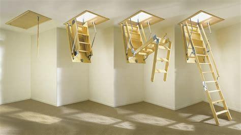 scale a botola da soffitto scale retrattili su misura a scomparsa a soffitto e