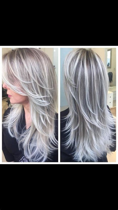 annika von holdt s heartfelt article on going gray 50 blended gray coverage alpha2 hair color single process