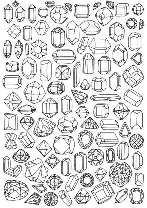 diamond pattern drawing how to draw jewels pattern pinterest tattoo ideas