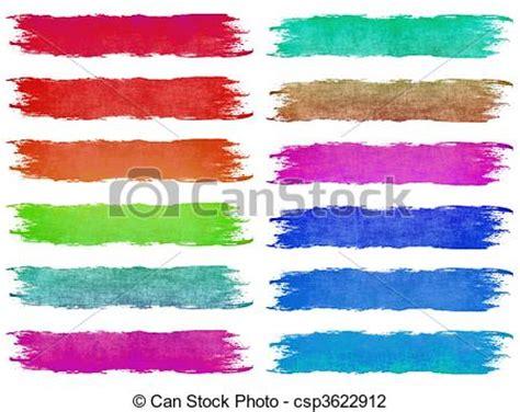 Kuas Tangan Kuas Cat Paint Brush 4 Inch Merk Original clip verf borstel slagen geassorteerd pastel