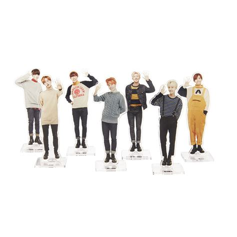 official bts 2nd muster zip code 22920 acrylic stand
