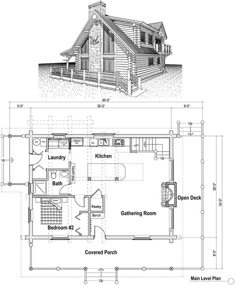 cottage plans with loft woodwork cabin house plan with loft pdf plans