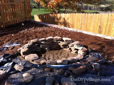 rock firepit hometalk building a stacked pit