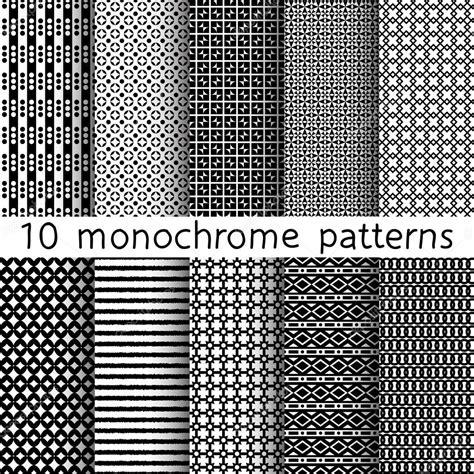 seamless pattern monochrome 10 monochrome seamless patterns for universal background