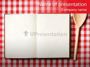 culinary powerpoint templates cooking wood notebook powerpoint template id 0000083201