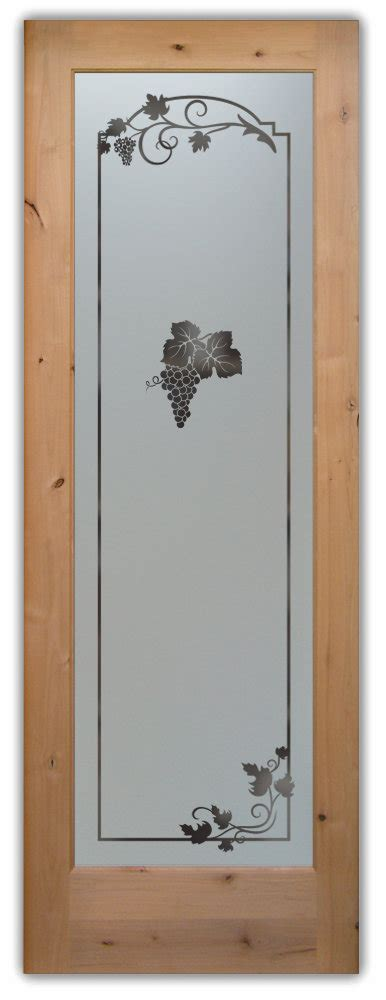 Custom Pantry Door by Etched Glass Pantry Doors Sans Soucie Glass
