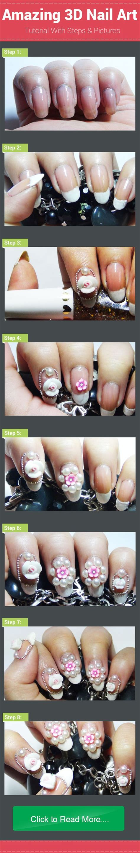 3d nail art video tutorial how to do 3d nail art perfectly 2 simple 3d nail