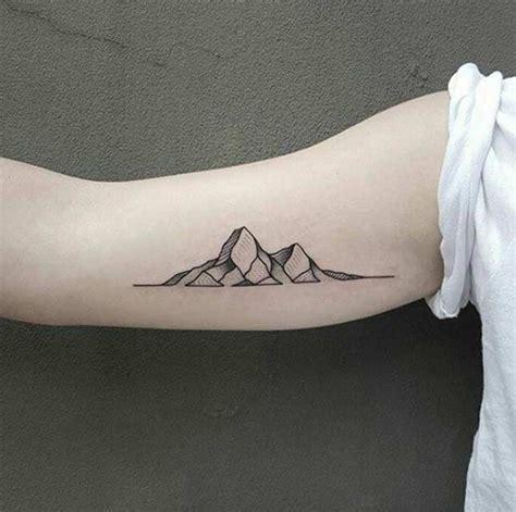 17 best ideas about Mountain Tattoos on Pinterest   Mountain outline, Simple mountain tattoo and