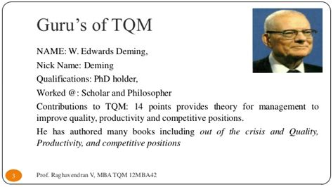 Tqm Notes For Mba by Vtu Mba Tqm 12mba42 Module 2
