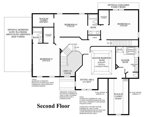 columbia floor plans columbia ii at dominion valley country club executives