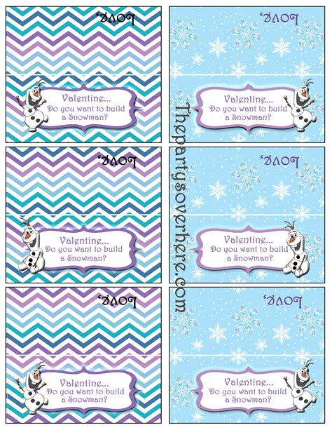 printable olaf bag toppers search results for snowman bag topper template