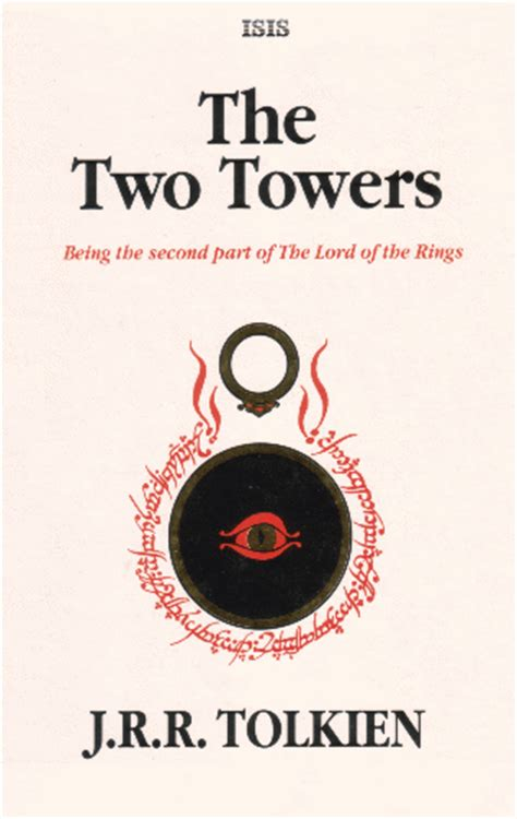 two towers a memoir books tolkienbooks net the two towers 1990