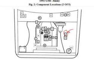 1992 gmc jimmy fuel relay electrical problem 1992 gmc jimmy
