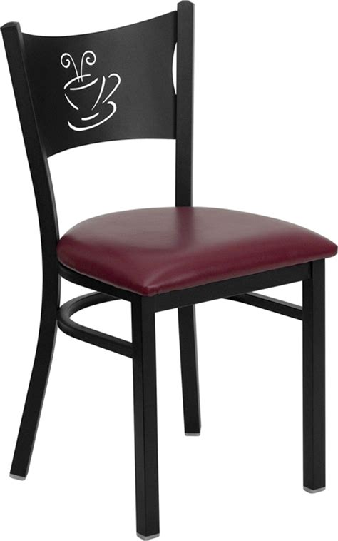 Coffee Chairs by Hercules Commercial Coffee House Restaurant Chair W