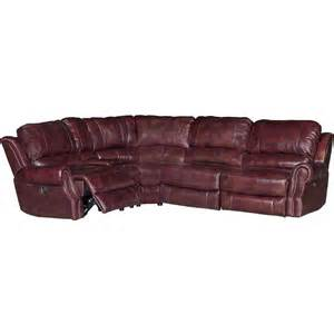burgundy leather match 5 power reclining