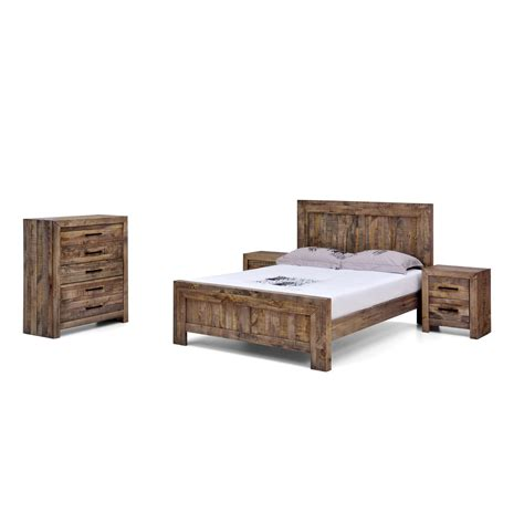 Bed Frames Boston Boston Recycled Solid Pine Rustic Timber Size Bed Frame