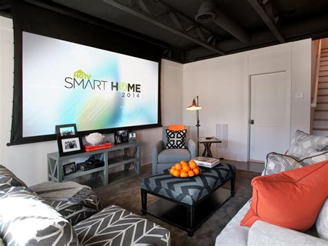 Basement Rec Room by Basement Rec Room From Hgtv Smart Home 2014 Hgtv Smart