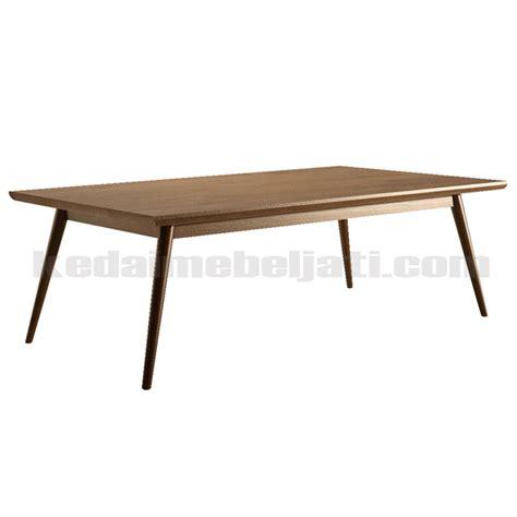 Coffee Table Minimalis meja ruang tamu model minimalis retro bahan kayu jati