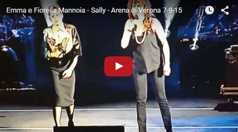 testo sally fiorella mannoia l per la musica e fiorella mannoia sally