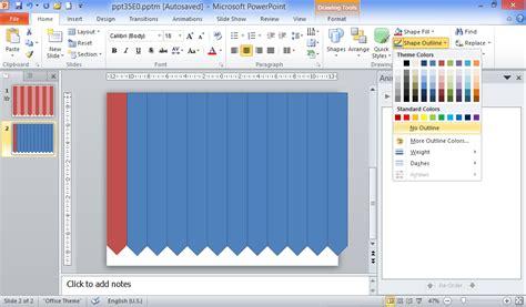cara membuat powerpoint yang rapi cara membuat tirai pembukaan slide sipowerpoint