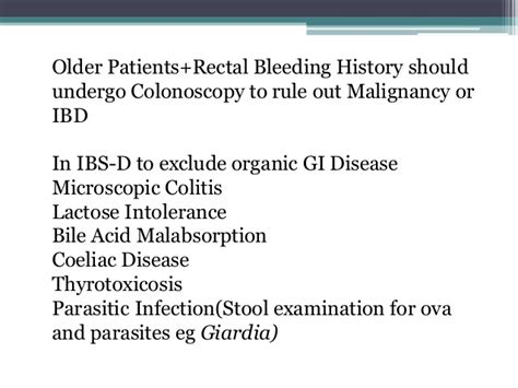 funtional bowel disease
