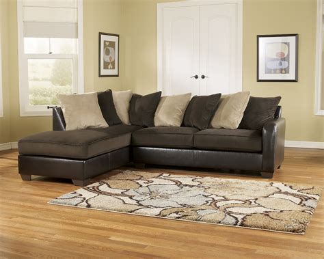 ashley brown sectional couch royal furniture outlet home furnishings for less page 2