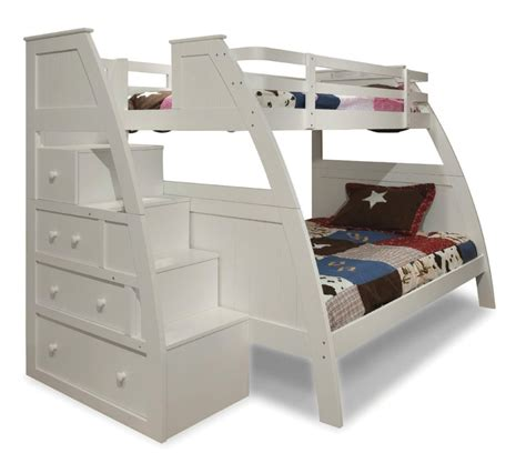 bunk beds with stairs and drawers colorful and peaceful storage bunk beds with stairs kids