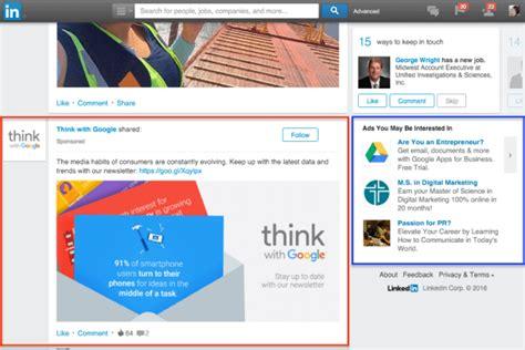 How To Advertise On Linkedin Social Media Examiner Linkedin Ad Template