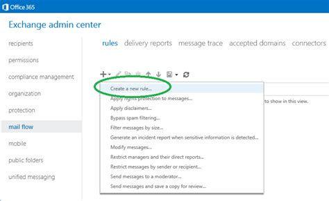 Office 365 Portal Mail How To Configure Office 365 Message Encryption Ome