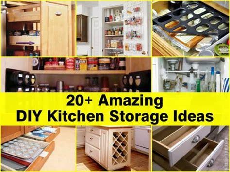 20 kitchen storage ideas socialcafe magazine 20 amazing diy kitchen storage ideas