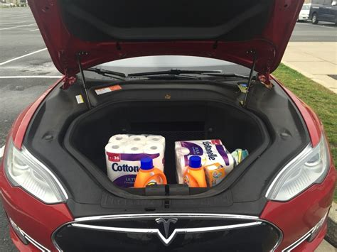 tesla model s frunk comparison of model x vs model s storage space