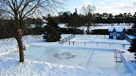 hockey rink in backyard backyard ice rinks backyard rink iron sleek inc