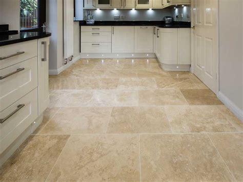 Travertine Honed And Filled Floor Tiles Jc Designs Travertine Kitchen Floor